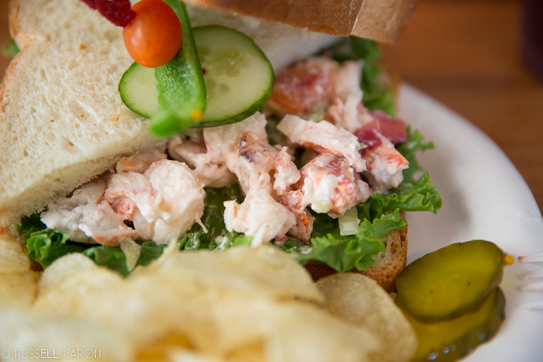 Maine lobster roll Maine food photography