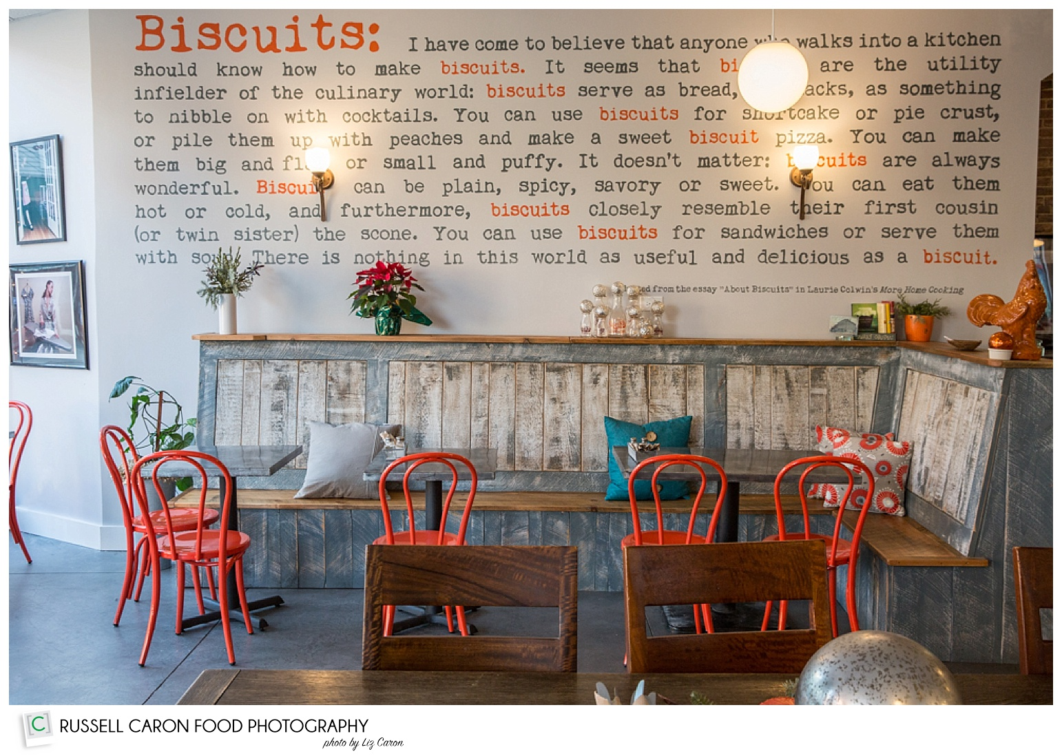 Biscuits & Company decor